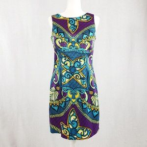AGB Dress bright and flattering Size 8